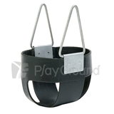 Rubber Full Bucket Toddler Swing Seat