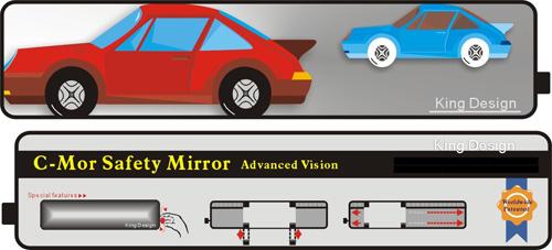 Adjustable rear mirror for car king design - Salon des inventions ...