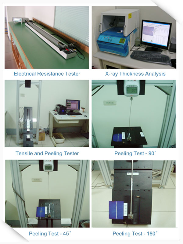 Inspection Equipment (Cont')