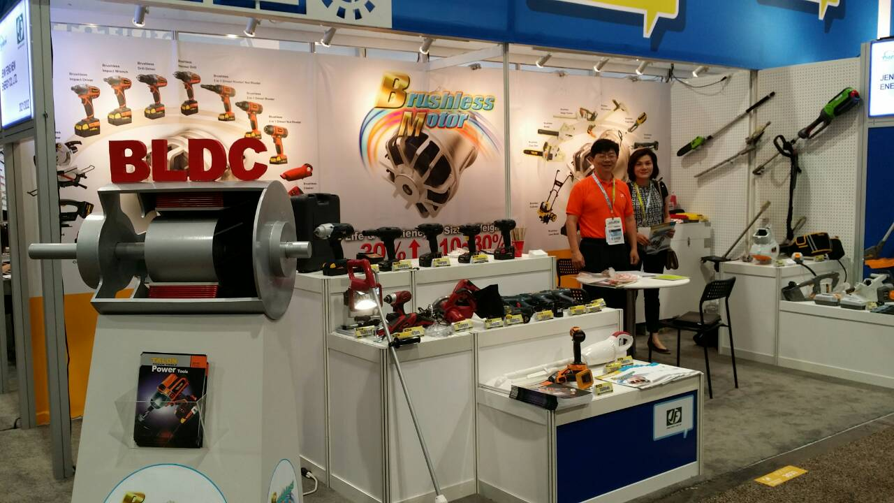 Jenn Feng Exhibited Both Tools And Garden At The 2017 National Hardware Show In Las Vegas Convention Center U S A From 5 To 7 May
